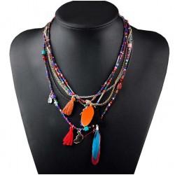Collar estilo étnico Qinghai