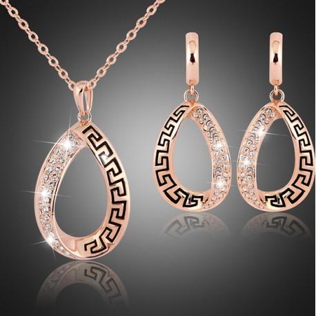 Bridal jewelry set Rosalia