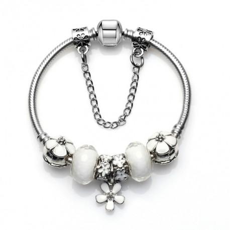 Flower Charm Pandora Bracelet