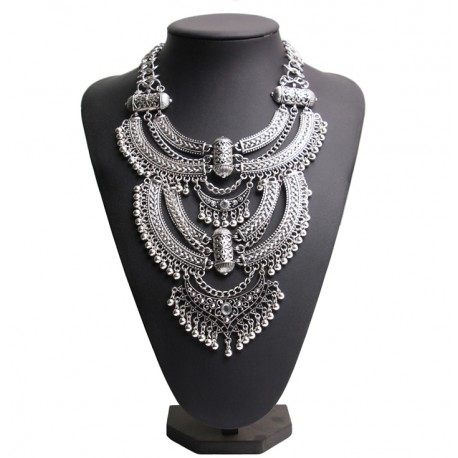Collar Maxi Vintage Boho Chauen