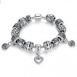 European Style Charm Bracelet Tibet Silver Beads