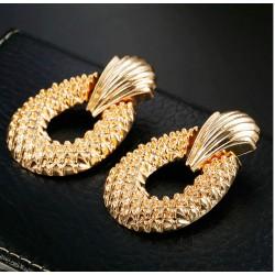 Pendientes de moda Maxi color dorado