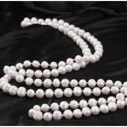 Collar con Perlas auténticas de 9-10mm