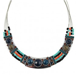 Collar artesanal inspirado de la cultura de las Inkas