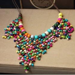 Collar Perlas Oro Negro- Sfera