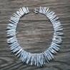 Signature Collection Luxury White Baroque Biwa Pearl Necklace