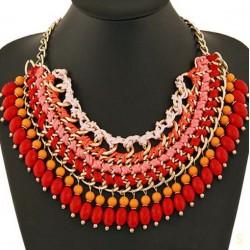 Collar artesanal estilo  Bohemia Tribal