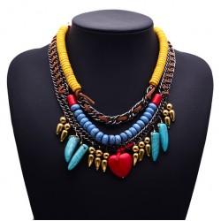 Bohemian Beaded Necklace Mayaguana