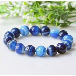 Natural Aquamarine Stone Bracelet
