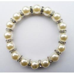 Pulsera de perlas acrílicas Formentera
