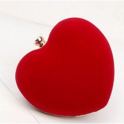 Bolso Clutch Corazón