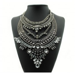 Vintage Boho Style Maxi Necklace Asilah